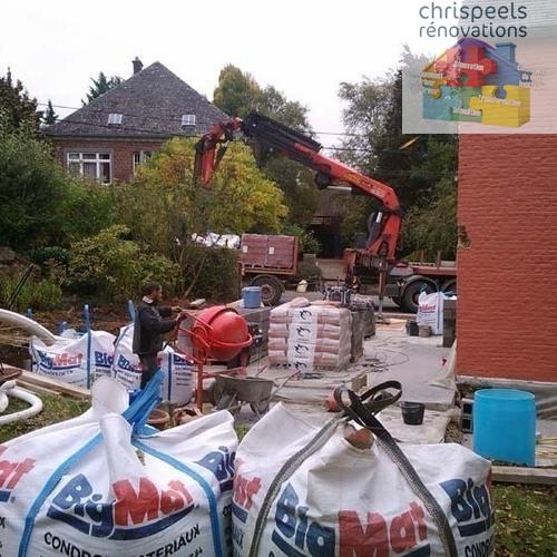 Chrispeels Rénovations - Aménagement extérieur